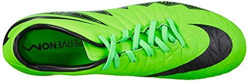 Nike Hypervenom Phelon II Fg, Chaussures de Running Entrainement homme Verde (Green/Schwarz)