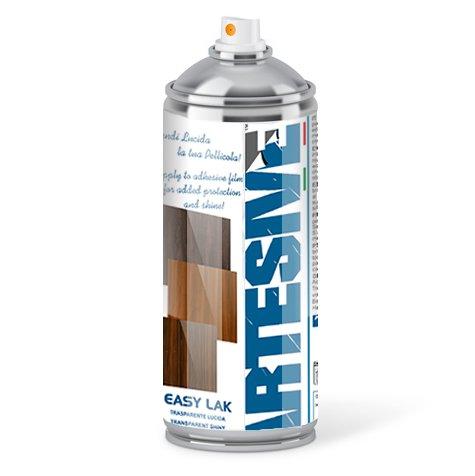 Artesive Easy Lak 400ml. - Spray Acrilico Trasparente Vernice per effetto Lucido