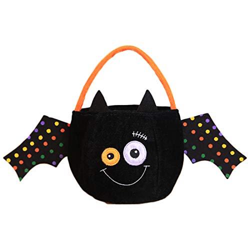 (Yefree Halloween Einkaufstasche Neu Kind Niedlich Süßigkeitstasche Geschenkbeutel Dekoration)