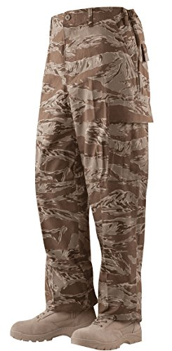 Tru-Spec Men's BDU Pants Desert Tiger Stripe - Small/Regular (Desert Tiger Stripe Bdu)