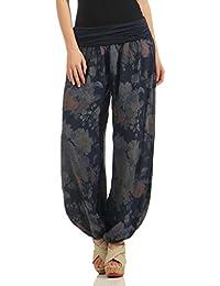 Damen Pumphose Harem-Stil Sommerhose All Over Print Camouflage Yoga One Size
