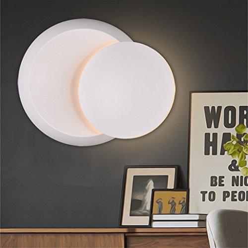 TOYM-LED Lampe de mur de lampe moderne et créative de la paroi minimaliste