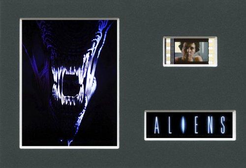 Film Cells Direct Wandbild Aliens mit einem Stück Original-35mm-Film (Alien-film-sammlerstücke)