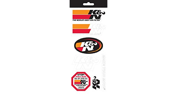 Kn 89 11831 sticker sheet amazon in car motorbike