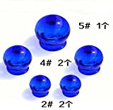 GENERIC e : 5 cup/set e color glass vacu...