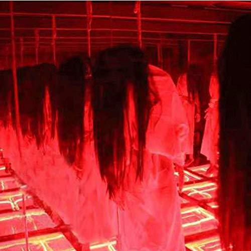LLU Halloween Room Escape Ghost City Dekoration Scorpion Hängende Leiche Haunted House Horror Simulation Dummy Scary (Halloween City Kostüm Für Erwachsene)