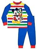 Disney - Ensemble De Pyjamas - Mickey Mouse - Garçon - Bleu - 3-4 Ans