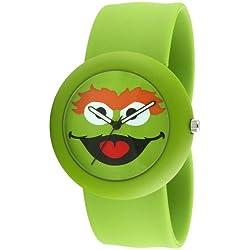 Pbs Oscar The Grouch Slap Watch - Sesame Street Slap Watch