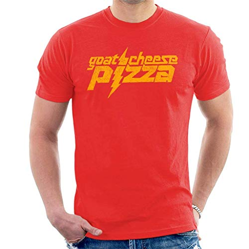 Zits Yellow Goats Cheese Pizza Men's T-Shirt XXL