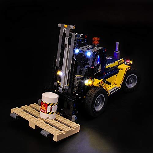 LIGHTAILING Conjunto de Luces (Technic Carretilla Elevadora de Alto Rendimiento) Modelo de Construcción de Bloques - Kit de luz LED Compatible con Lego 42079 (NO Incluido en el Modelo)
