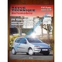 RRTA0739.1 REVUE TECHNIQUE AUTOMOBILE FIAT PUNTO Depuis 10/1999 Essence 1.2l et Diesel atmo et turbo