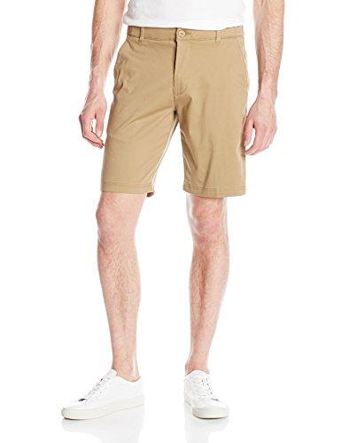 Belted Jeans Spandex (Lee Men's Performance Series Extreme Comfort Short, Original Khaki, 32)