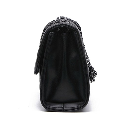 LAIDAYE Mode Schulter Messenger Bag 4