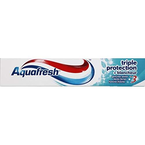 0fe41574cffc Aquafresh - Dentifrice Triple Protection Blancheur - 75Ml - Lot De 5 -  Livraison Rapide En France - Prix Par Lot