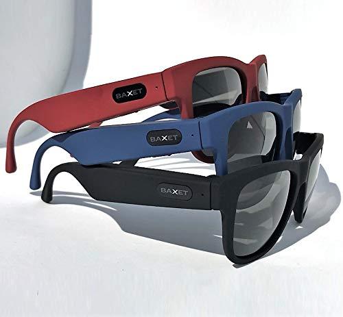 BLUETOOTH  Brille mit Knochenleitung | Beantworten Sie das Telefon direkt von der Brille | Hören Sie Ihre Lieblings-Musik | Sie sind nicht isoliert. Diese SONNENBRILLE ist ideal für Sportler