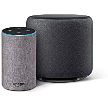 Echo Sub Combo with Echo Plus (2nd Gen) - Grey