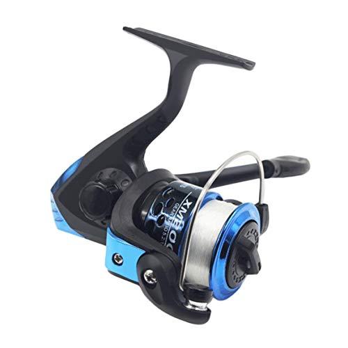 Delicacydex Fischerei-Behälter-Angelschnur-Spulen-Fischerei-Ausrüstungs-Fischen-Rad Spinnrad-Draht-Schalen-Zusatz-Werkzeuge - Schwarzes
