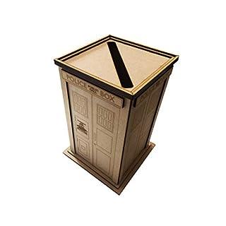 PixieBitz Wedding Post Deluxe Police Phone Box Tardis - Gift Birthday