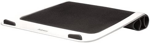 Bianco Fellowes 9381202 Supporto Portatile Oscillante I-SPIRE Series