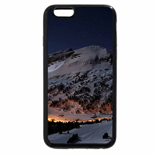 iPhone 6S / iPhone 6 Case (Black) Cold Mountain