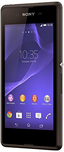 "Sony Xperia E3 - Smartphone libre Android (pantalla 4.5"", cámara 5 Mp, 4 GB, Quad-Core 1.2 GHz, 1 GB RAM), negro (importado)"