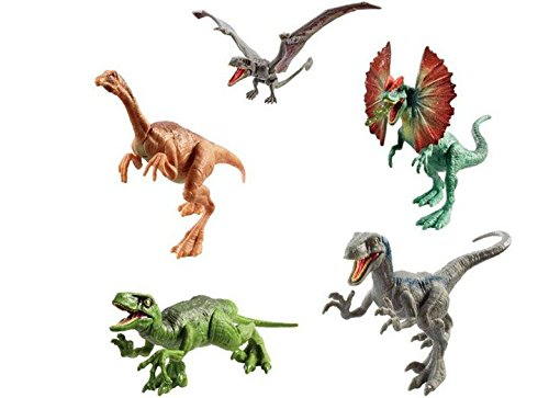 Azul Jurassic World FPF12 ataque Pack VELOCIRAPTOR