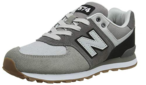 New Balance 574, Zapatillas Unisex, Gris (Castle Rock/Black MLB),...