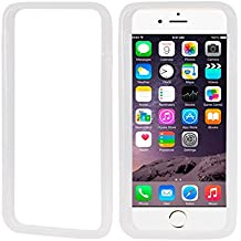 iPhone Case Cover Funda Bumper TPU suave para el iPhone 6 & 6S ( Color : White )