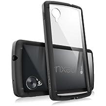 RINGKE FUSION para Google Nexus 5. La mejor proteccion contra golpes y arañazos. Panel transparente en la parte trasera y material resistente para una mejor absorción de golpes [Negro]