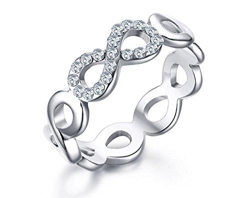 Mealguet Jewelry  -  Sonstige  Edelstahl     keine Angabe  (Mens Wedding Bands Infinity)