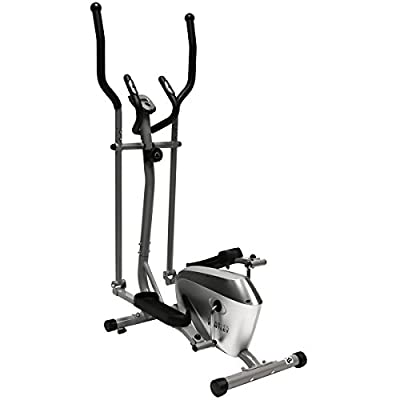 Charles Bentley Fitness Elliptical Cross Trainer Cardio Workout Handlebar Heart Rate Sensors from Charles Bentley