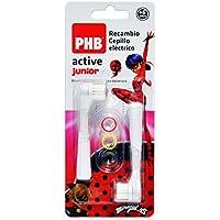 PHB Active Junior Recambio Cepillo de Dientes Eléctrico Infantil con Filamentos de Tynex