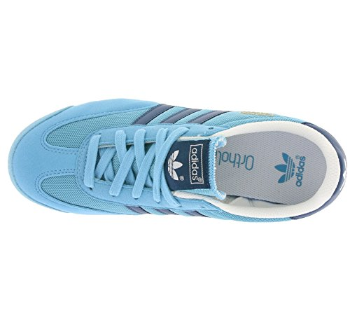 adidas Dragon J, Chaussures de Sport Garçon Bleu - Azul (Azuvap / Acetec / Ftwbla)