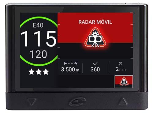 Coyote - Coyote Mini - Asistente de Ayuda a la conducción - Alertas de incidencias en la Carretera, Tráfico y Límites de Velocidad - Alerta de Radar Fijo y Móvil - Conectividad Bluetooth
