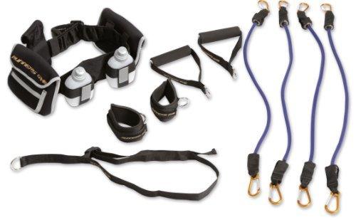 STOP! Fitness | Kraft Trainings System POWER CORE - Super Idee für ein Widerstandstraining - alle Teile kompakt im Laufgürtel verstaut, einfach zu transportieren -