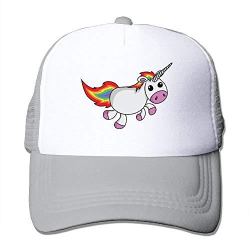 shtseresj Unicorns Infant Custom Cap One Size Fits Most Dancing Mesh Cap Adjustable Custom-fit-mesh-cap