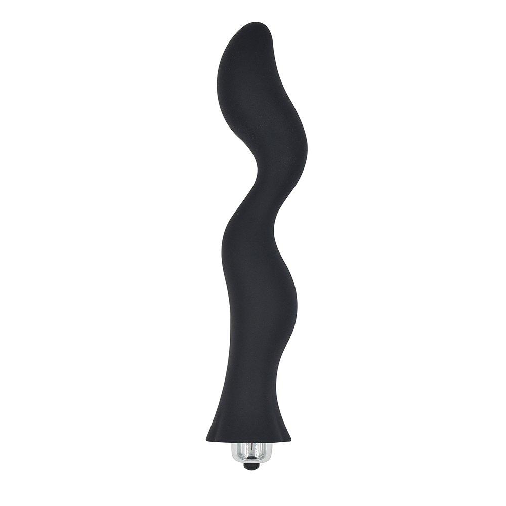 King Love 18�cm ANAL PLUG CON 10�modalit� di vibrazione, prostata massaggio vibratore