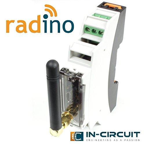 radino WiFi DinRail Adapter, radino Hutschienenadapter bestückt mit radino WiFi mit ESP8266EX
