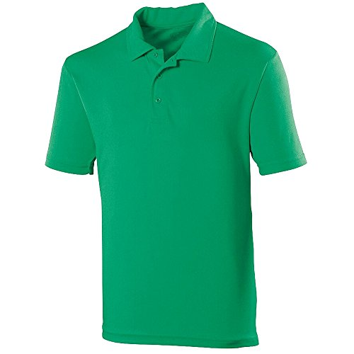 Just Cool Herren Polo-Shirt Sports Kelly Grün