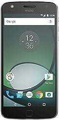 Motorola Moto Z Play Smartphone (14 cm (5,5 Zoll), 32 GB, Android) Schwarz/Silber