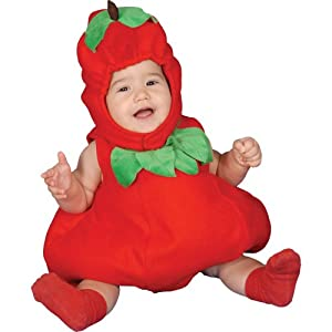 Dress Up America Conjunto de Disfraces bebé Manzana