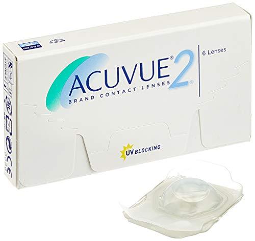 Acuvue 2-Wochenlinsen weich, 6 Stück / BC 8.3 mm / DIA 14 / -2 Dioptrien