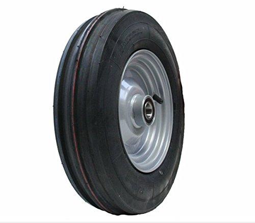 3.50 - 8 Haybob râteau tourneur 350x8 roue pneu Wanda pneu jante ajustée 25mm lourd