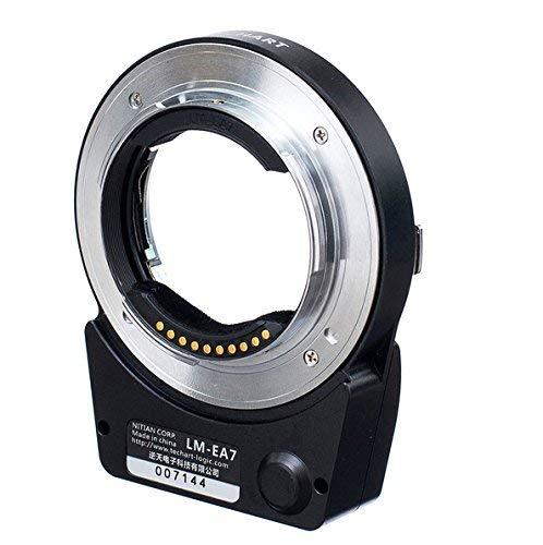 Techart 5,0 LM-EA7 Autofokus-Objektivadapter für Leica M/Zeiss  M/Voigtlander M Mount Lens to Sony E NEX A7RIII A9 A7II A7RII A6500 A6300