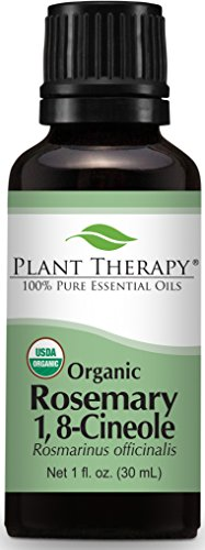 Organic Rosemary Essential Oil. 30 ml (1 oz). 100% Pure, Undiluted, Therapeutic...