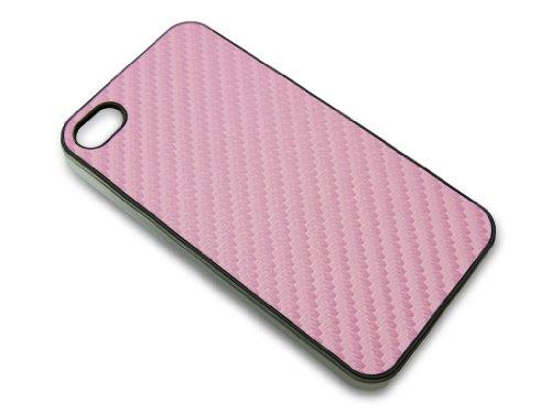 Sandberg Fiber Haut Cover Schutzhülle für iPhone 4/4S rose