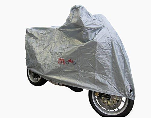 Moto EX eau universel léger imperméable moto housse - Argent, Large