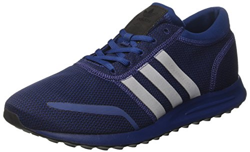 adidas Los Angeles, Sneaker a Collo Basso Uomo Blu (Mystery Blue/ftwr White/core Black)