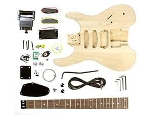 Stellah Kit guitare électrique sans tête à monter soi-même