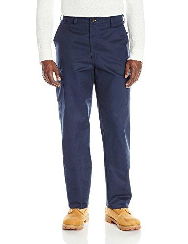 32W x 34L , Navy : Red Kap Men's Cotton Cargo Pant